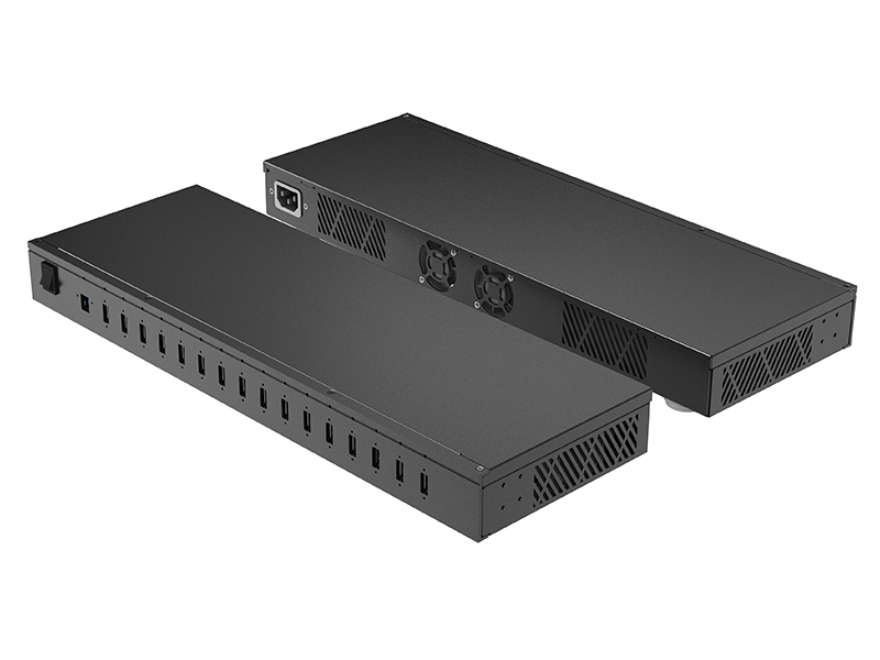 USB-B-5G HUB for USB-A-2.4A x16