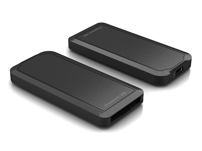 TBT3 and USB-C-10G CFExpress card reader