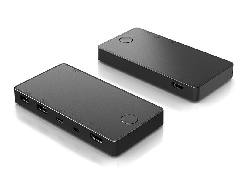 USB-C and USB-MicroB KVM