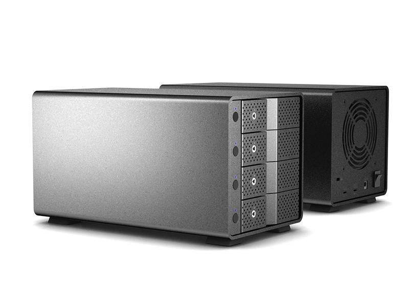 USB-C-10G  SATA HDD x4 Enclosure