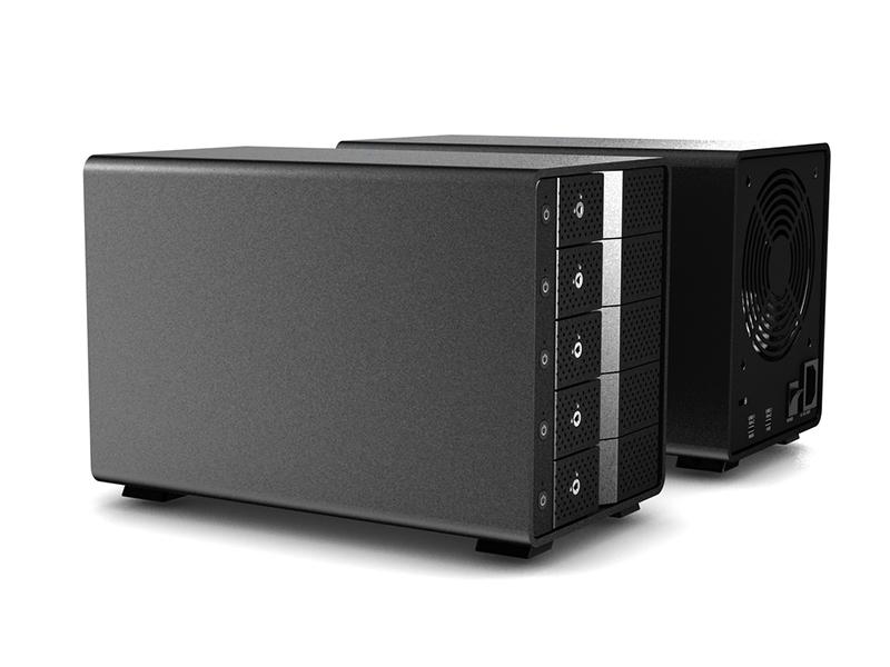 USB-C-10G SATA HDD x5 Enclosure